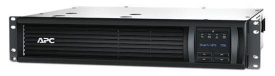Picture of APC Smart-UPS 750VA LCD RM 2U 230V with Network Card (SMT750RMI2UNC)