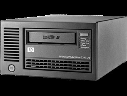 Hình ảnh HPE StoreEver LTO-5 Ultrium 3000 SAS External Tape Drive(EH958B)
