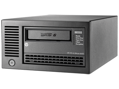 Picture of HPE StoreEver LTO-6 Ultrium 6650 SAS External Tape Drive (EH964A)