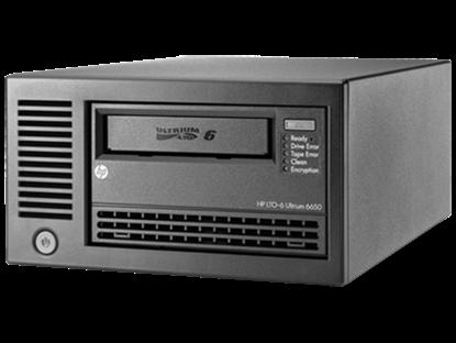 Hình ảnh HPE StoreEver LTO-6 Ultrium 6650 SAS External Tape Drive (EH964A)
