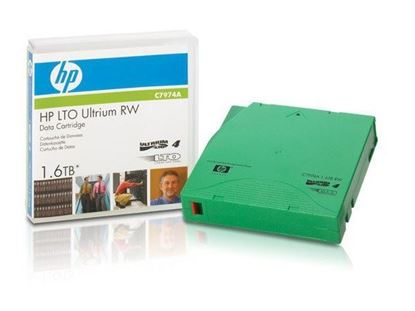 Picture of HP LTO4 Ultrium 1.6TB RW Data Tape (C7974A)
