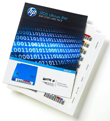 Hình ảnh HP LTO5 Ultrium RW Bar Code Label Pack (Q2011A)