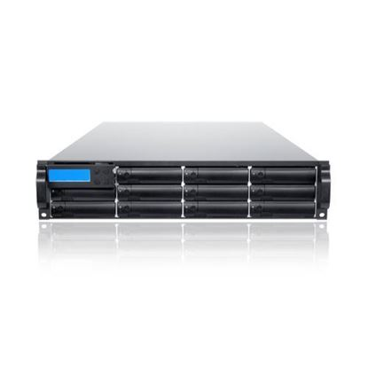 Hình ảnh Sans Digital AccuSTOR Dual Controller 2U-12 12G SAS JBOD Expansion Redundant IO for AccuRAID Fibre or SAS Storage (AS212X12R)