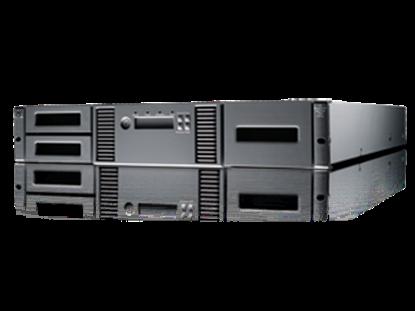 Hình ảnh HPE StoreEver MSL2024 0-drive Tape Library (AK379A)