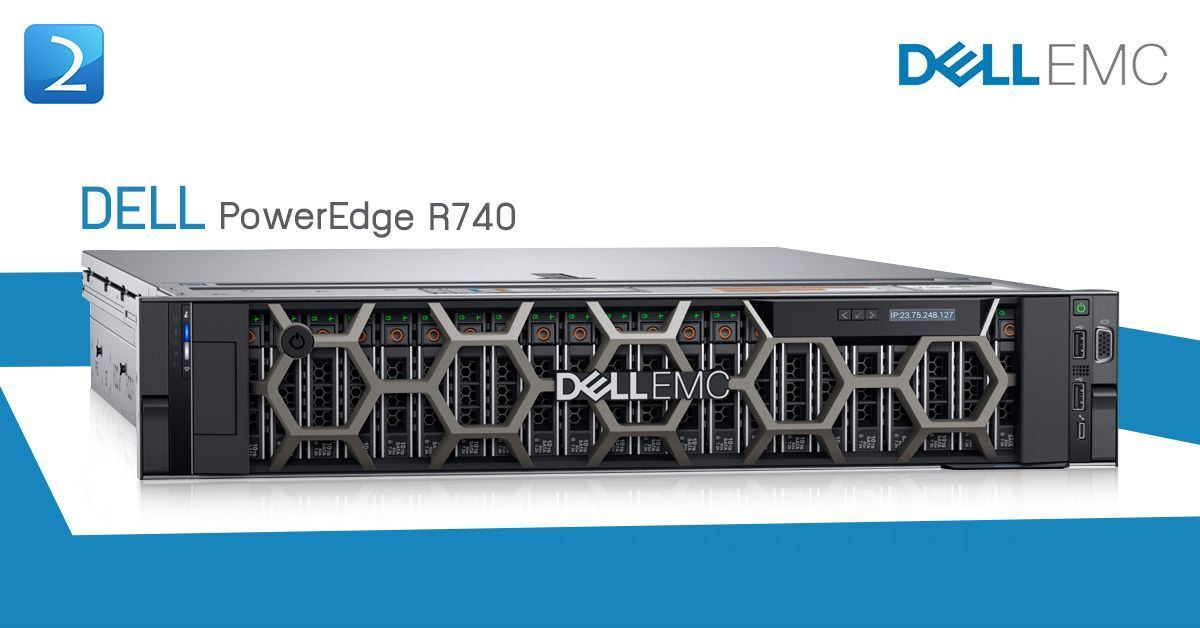 Dell PowerEdge R740 2 5