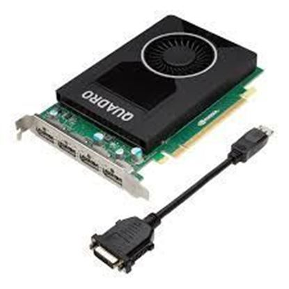Picture of NVIDIA® Quadro® M2000 4GB (4 DP) (1 DP to SL-DVI adapter)