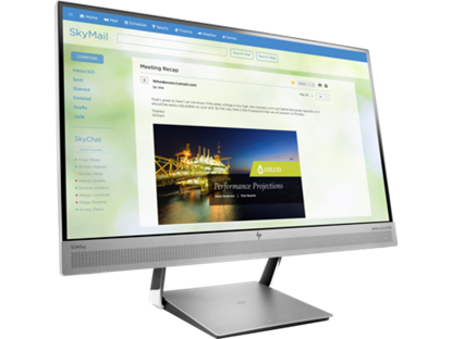 Hình ảnh HP EliteDisplay S240uj 23.8-inch USB-C Wireless Charging Monitor (T7B66AA)