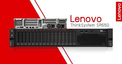 Picture of Lenovo ThinkSystem SR550 SFF Silver 4108