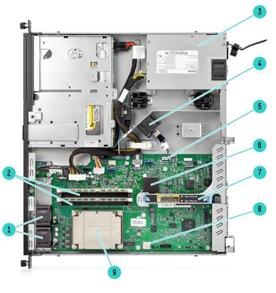 HPE ProLiant DL20 G9 LFF i3-7100
