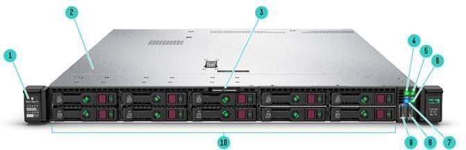 HPE ProLiant DL360 G10 SFF Silver 4110  Nhà phân phối máy chủ hàng