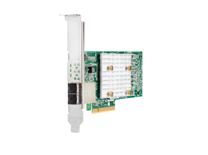 Picture of HPE Smart Array E208e-p SR Gen10 (8 External Lanes/No Cache) 12G SAS PCIe Plug-in Controller (804398-B2)