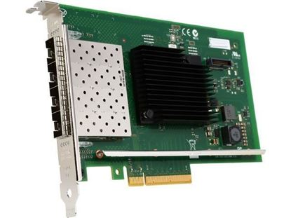 Picture of Intel X710 Quad Port 10GbE, Base-T, PCIe Adapter, Full Height, Customer Install