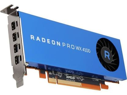Picture of Radeon Pro WX 4100, 4GB, 4 mDP