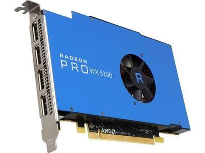 Picture of Radeon™ Pro WX 5100, 8GB, 4 DP